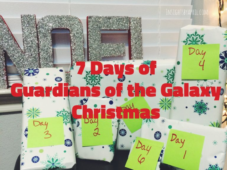 7 days of guardians of the galaxy Christmas