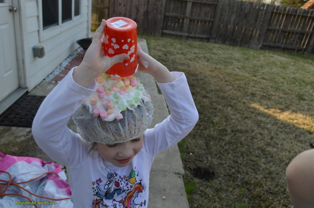 sower cap marshmallow toss