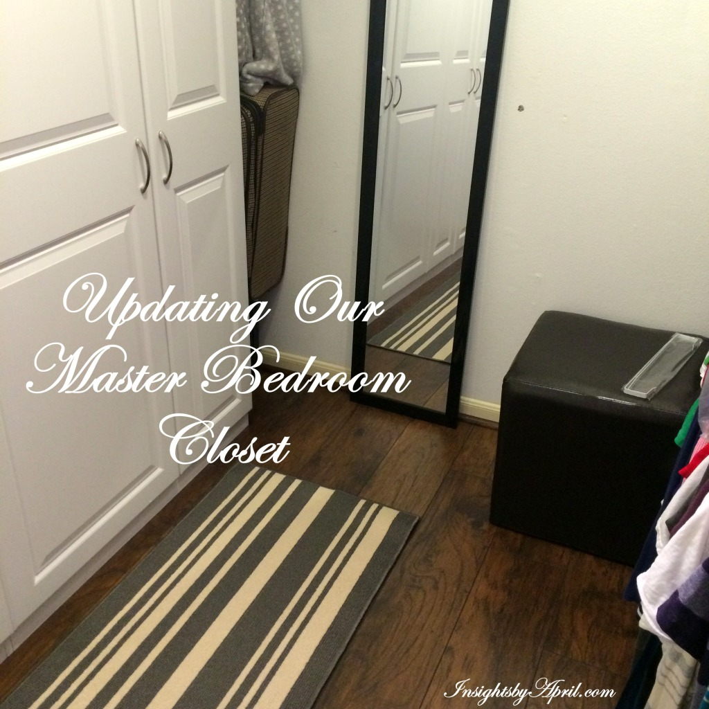 Updating our master bedroom closet