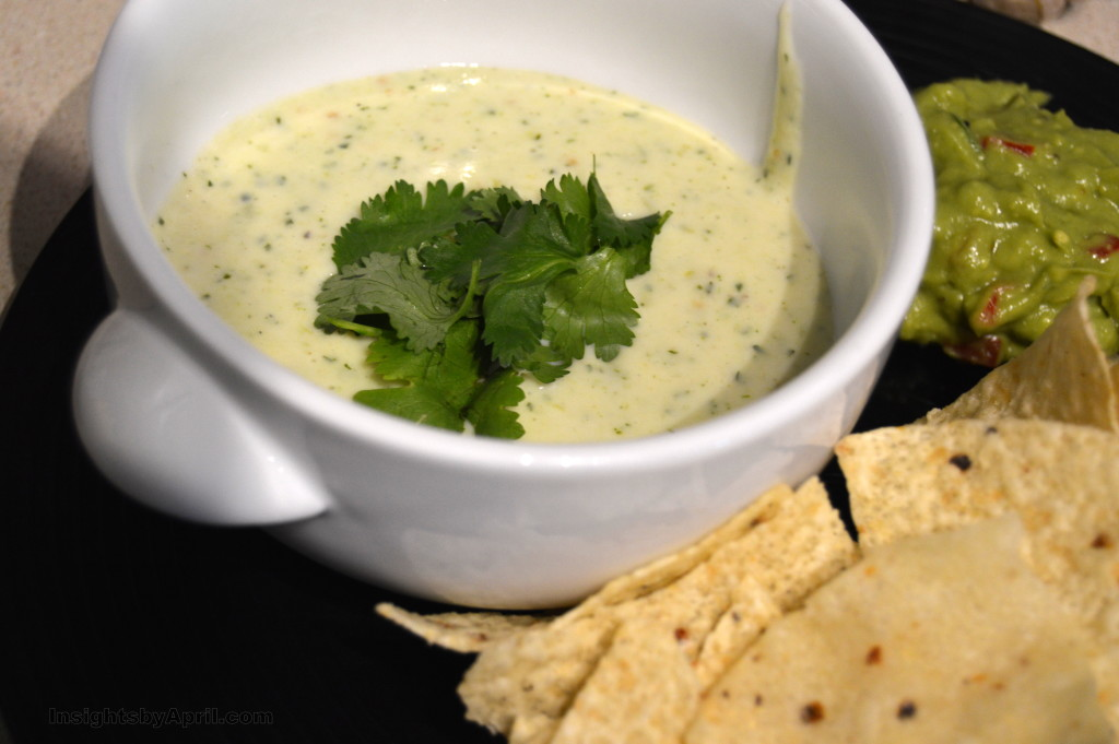 grilled tomatillo salsa queso