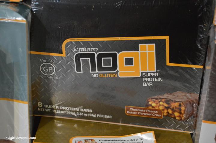 noGii protein bars