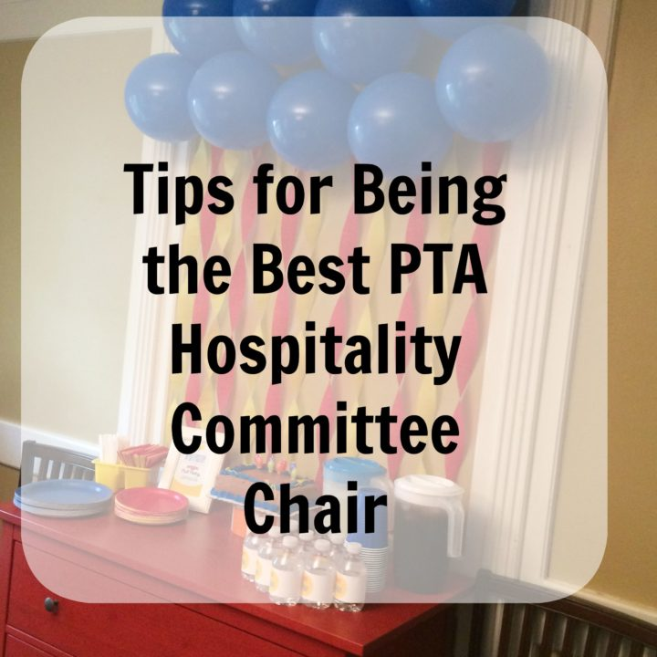being the best PTA hospitality committee