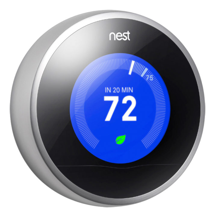 How best to control your temperature soccer mom life - Nest thermostat stylish home temperature control ...