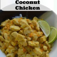 Easy Green Curry Coconut Chicken