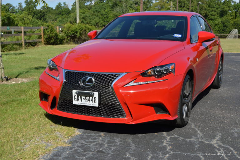 2016 lexus is 200t f sport soccer mom life. Black Bedroom Furniture Sets. Home Design Ideas