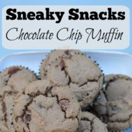 Sneaky Snack Muffins- Chocolate Chip Muffin Recipe