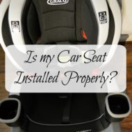 Car Seat Installed Properly? Graco Showed Us How