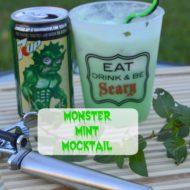 How to Make Halloween Monster Mocktails