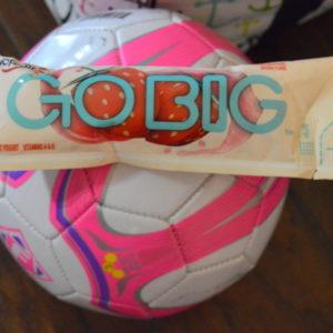 Refreshing After Soccer Snack- Yoplait Go Big