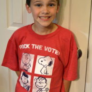 Rock the Vote with The Peanuts Gang