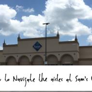 How to Navigate Sam's Club Aisles