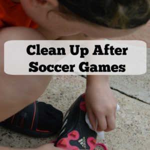 Clean Up After Soccer Games