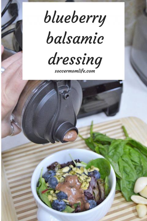 Blueberry Basil Balsamic Dressing
