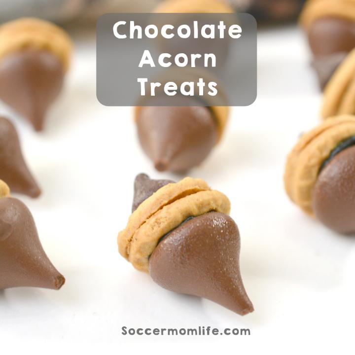 Chocolate Acorn Treats