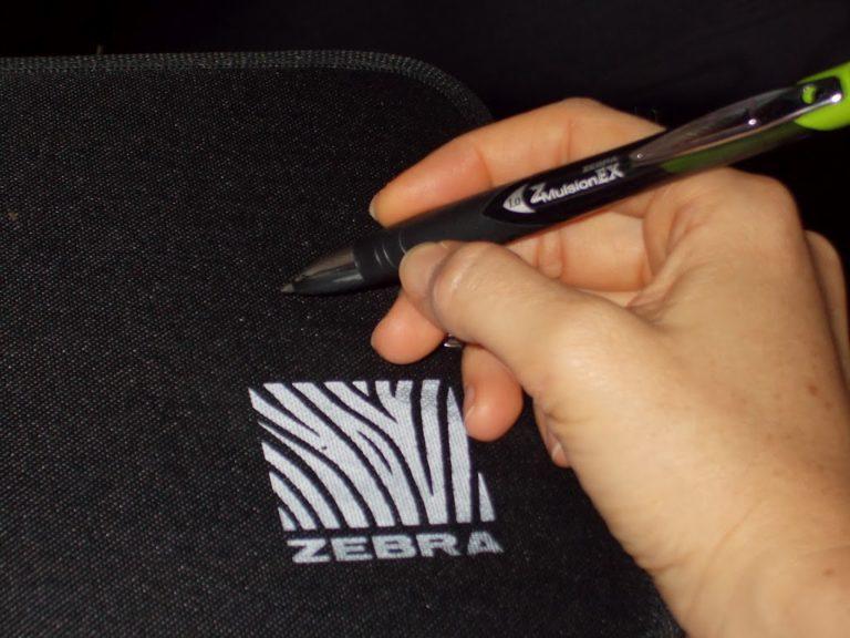 Zebra Brand Pens Review- Z Mulsion EX and Sarasa #ShopletReviews