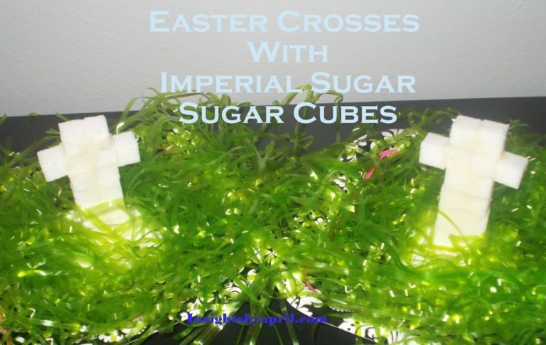 Easter Crosses with Imperial Sugar-Sugar Cubes(Fun Kids Craft)