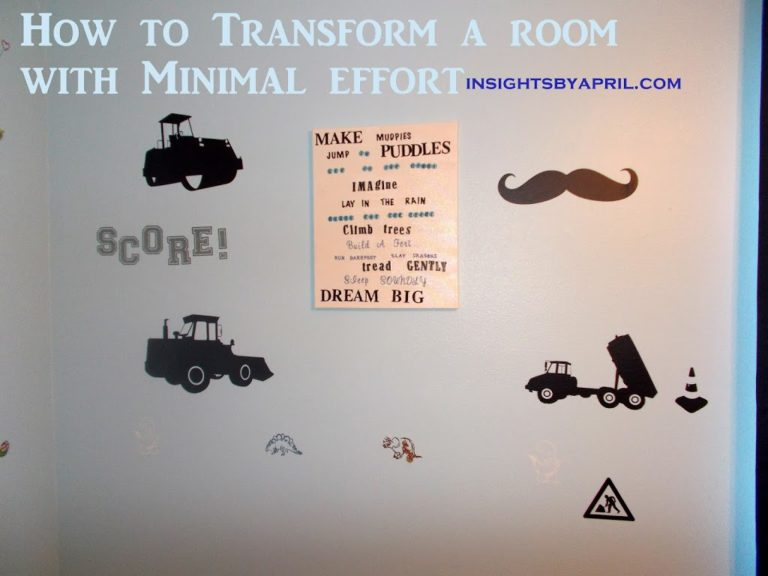 How to Transform a Room With Minimal Effort~ Plus a Giveaway