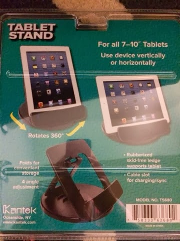 Kantek Tablet Stand Review #ShopletReviews