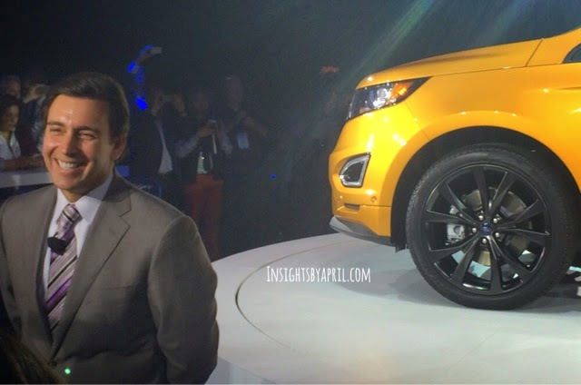 2015 Ford Edge Debuts at the Ford Trends Conference