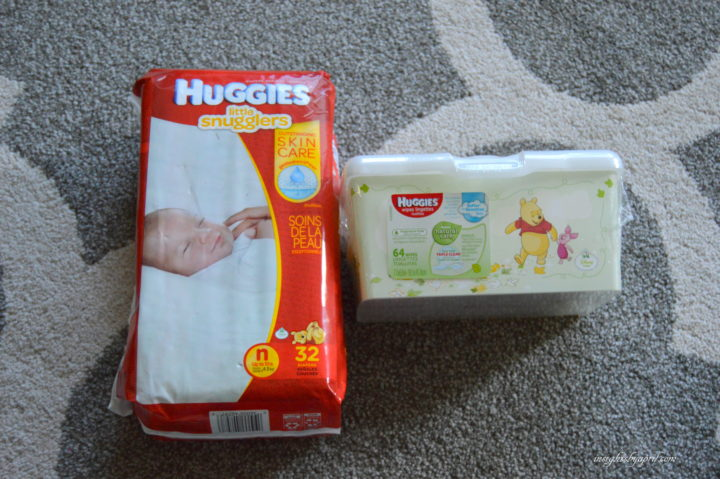 Huggies Little Snugglers and Natural Care Wipes