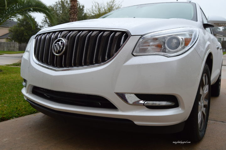 2016 buick enclave front grill
