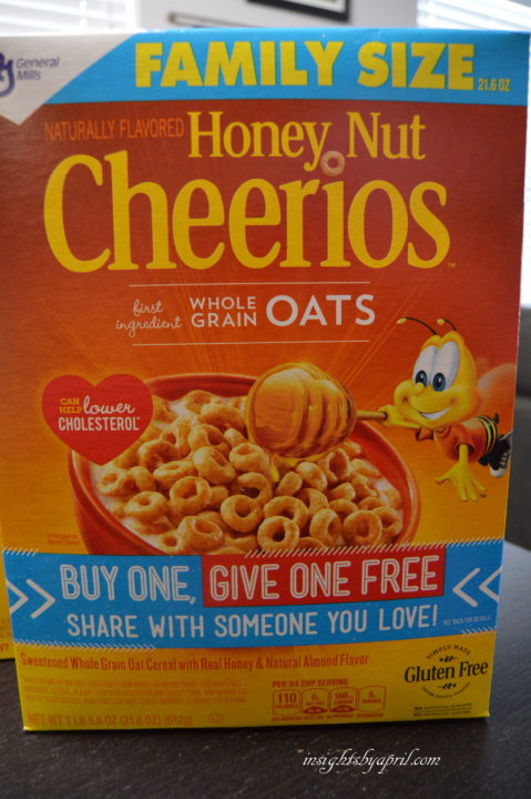 Cheerios Give a Box