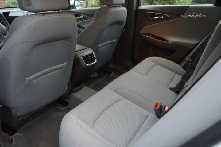 Chevrolet Malibu Back Seat