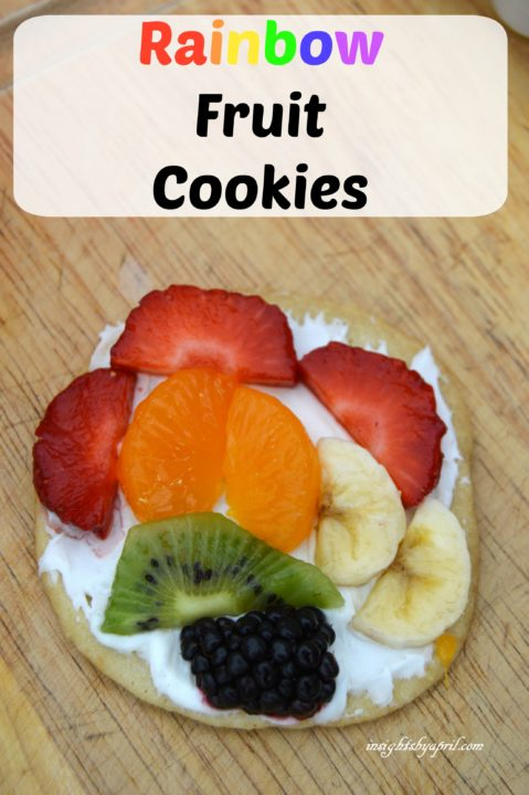 Rainbow Fruit Cookies