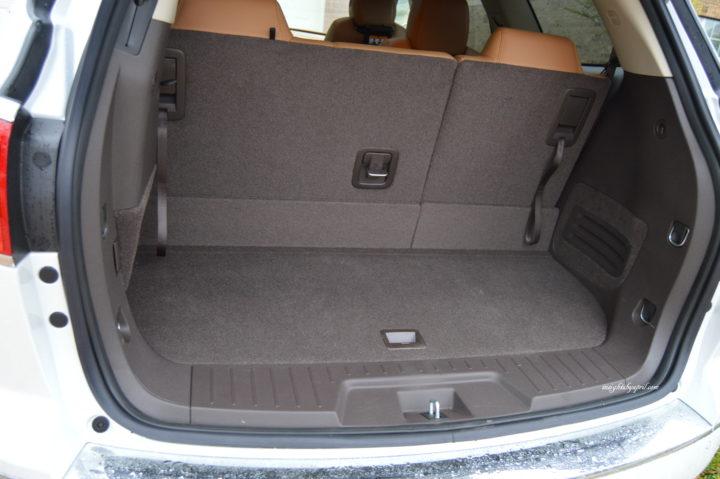 buick enclave cargo space