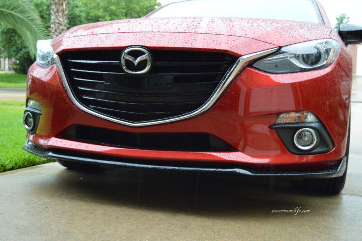 Mazda3 front grille