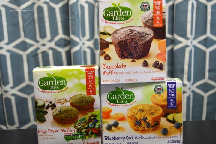 Finding gluten free snacks soccer mom life - Garden lites blueberry oat muffins ...