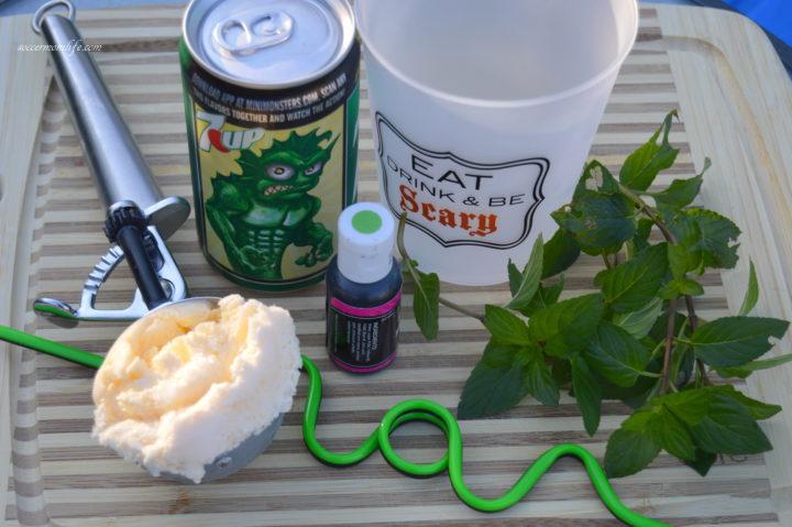 ingredients-for-monster-mint-mocktail