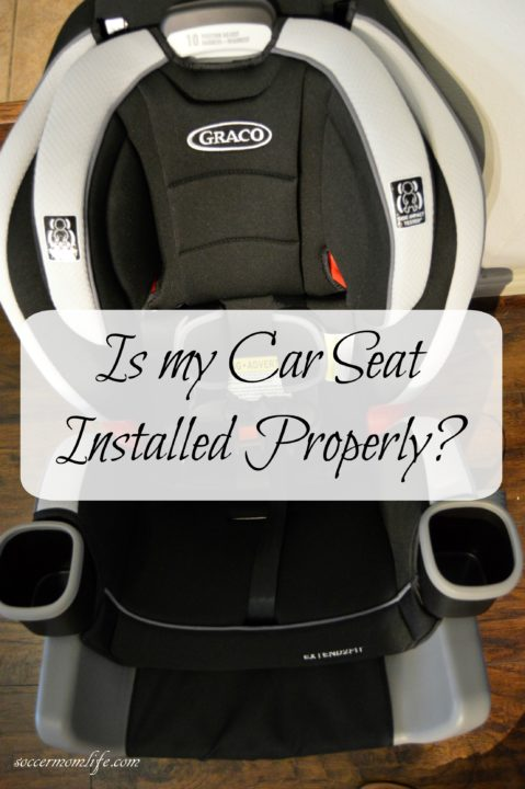 Is My Car Seat Installed Properly