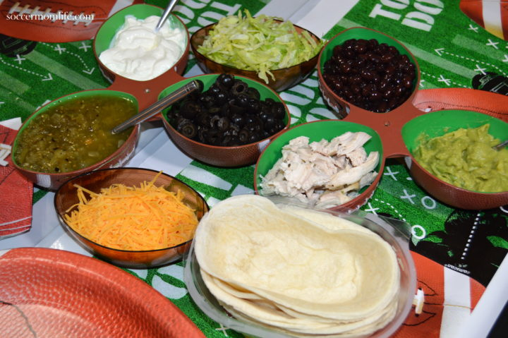 ingredients for 7 layer dip