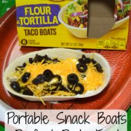 Portable Snack Boats- Perfect Party Food