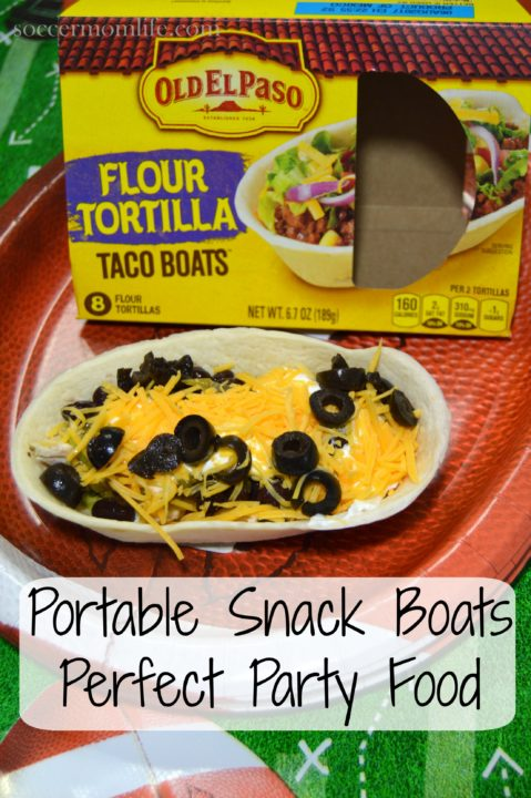 portable snack boats