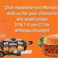 Join Us For the Manwich Twitter Party 2/16