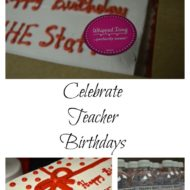 Celebrating Teacher Birthdays