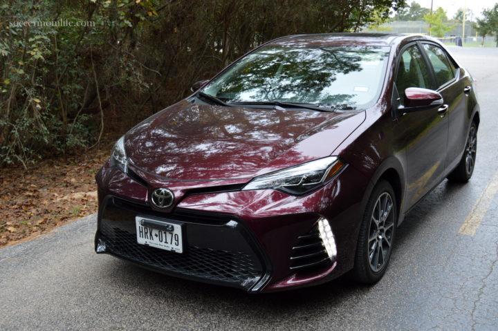 2017 Toyota Corolla Se 50th Anniversary Special Edition In Dark Cherry Pearl Msrp 24 497