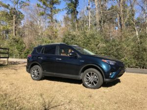 Family Vehicle with Fuel Savings- 2018 Toyota RAV4 Hybrid Limited