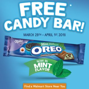 Oreo Chocolate Candy Bar- One Million Sample Giveaway