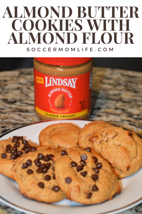 Almond Butter Cookies with Almond Flour