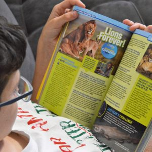 Love of  Learning- National Geographic Almanac and Explorer Academy Books