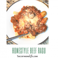 Homestyle Beef Ragu- MultiPot Recipe