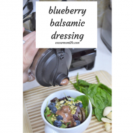 Blueberry Basil Balsamic Dressing