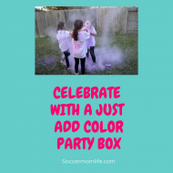 Celebrate with a Just Add Color Party Box