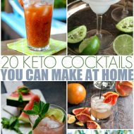 20 Keto Cocktails You Can Make at Home