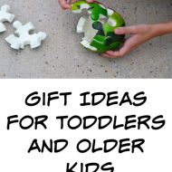 Gift Ideas for Toddlers and Older Kids