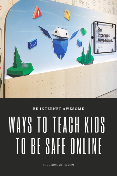 Be Internet Awesome- Ways to Teach Kids to be Safe Online - Soccer