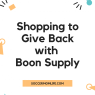 Shopping to Give Back- Boon Supply